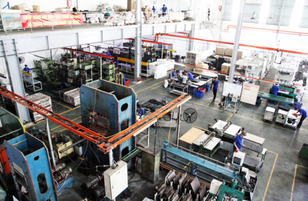 Nhà máy sản xuất của Trực Quan