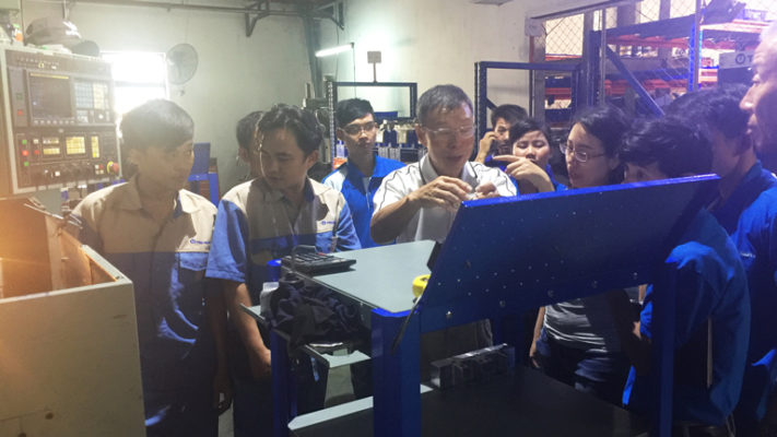 Quản lý chất lượng tập huấn sản phẩm trucquanrubber