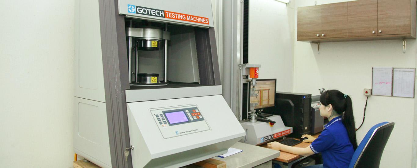Máy móc thí nghiệm trực quan rubber