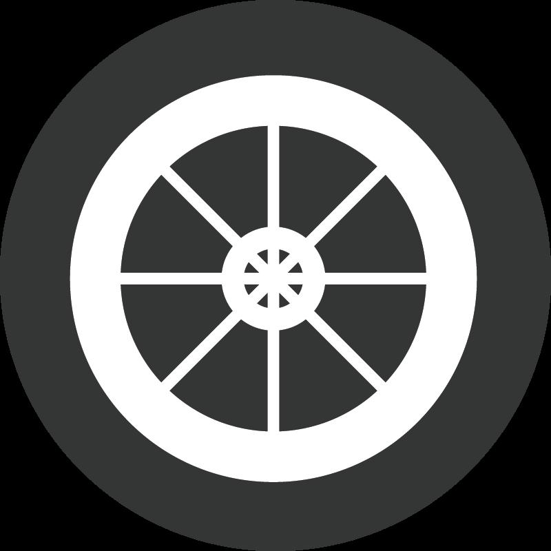 Các sản phẩm bánh xe cao su trực quan rubber